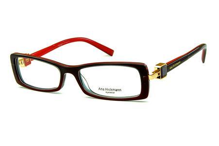ana vermelho   Coleção de óculos Ana Hickmann   Feminino   Óculos de Grau a32576ad33