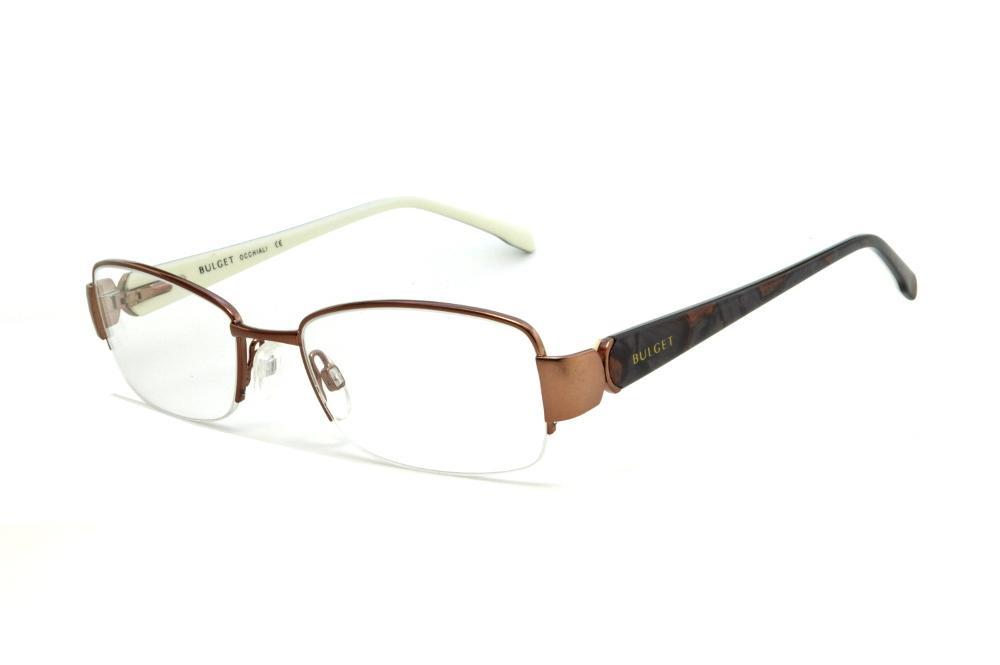 e9514b133463e Óculos Bulget cobre em nylon com haste com estampa preta cobre flexível de  mola