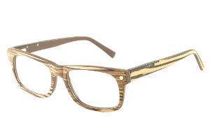 Óculos Com Grau Online   Armação e óculos cor bege   Óculos Quadrado ... 237cf956ec