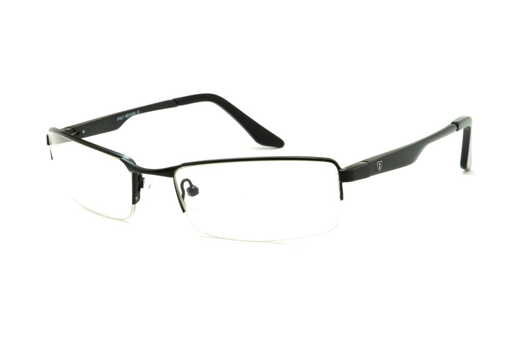 c6a295b5c94dc Óculos Ilusion fio de nylon preto com haste preta