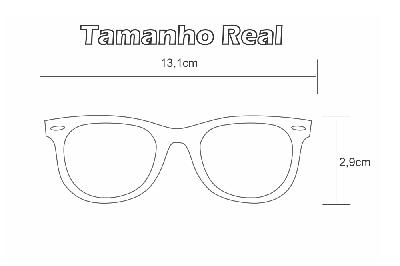 8e699014d ... Óculos Ilusion prata modelo parafusado com haste preto e prata + Lentes  grátis