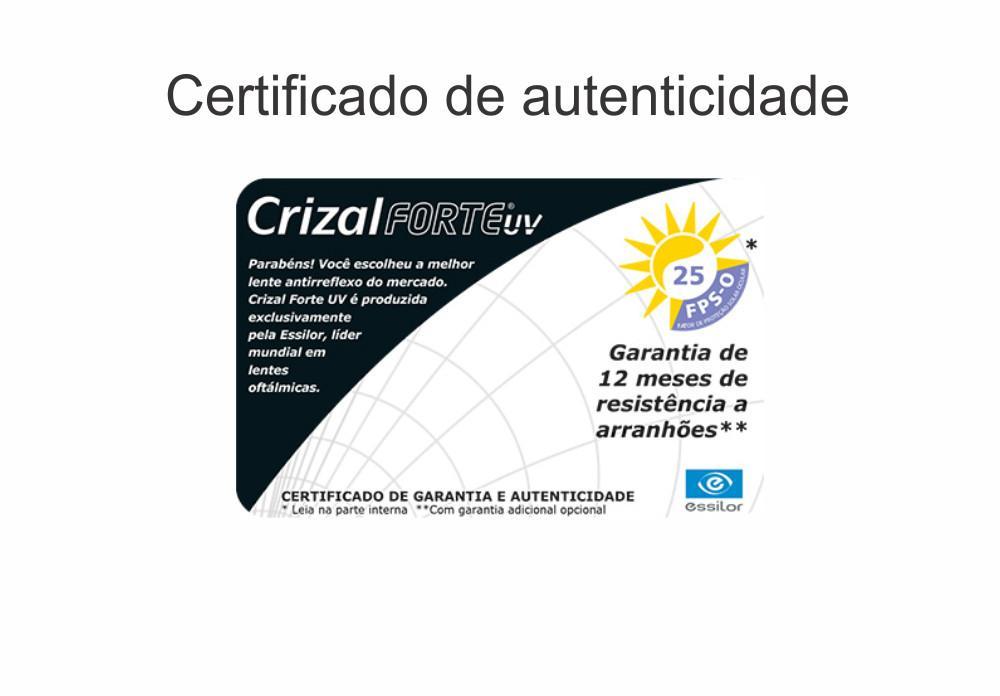 0693fbb203409 Lente Stylis Crizal Forte Alto Índice 1.74 ESPECIAL Grau Esférico -14