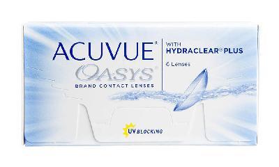Lente de contato esférico -1,50 Acuvue Oasys Hydraclear PLUS kit com 6  lentes ... be00d50856