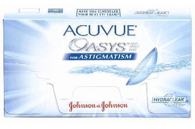 c098ce0998b42 Lente Acuvue para Astigmatismo Esf. -6,00 a +4,50   Cil. -0,75 a -3,00