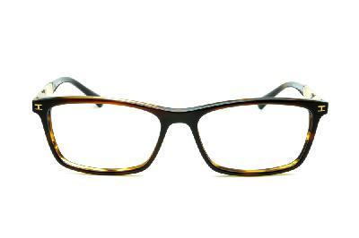 8dc9d7c9f1469 ... Óculos Ana Hickmann HI6014 acetato marrom com haste metal dourada ...