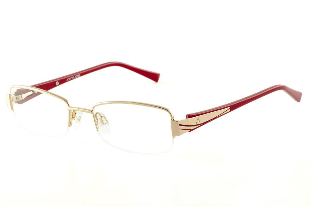 f714540ba448a Armação de óculos bordô