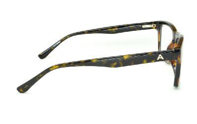 4f51f978bd2cf ... Óculos Atitude em acetato cor demi tartaruga efeito onça com haste  flexível de mola ...