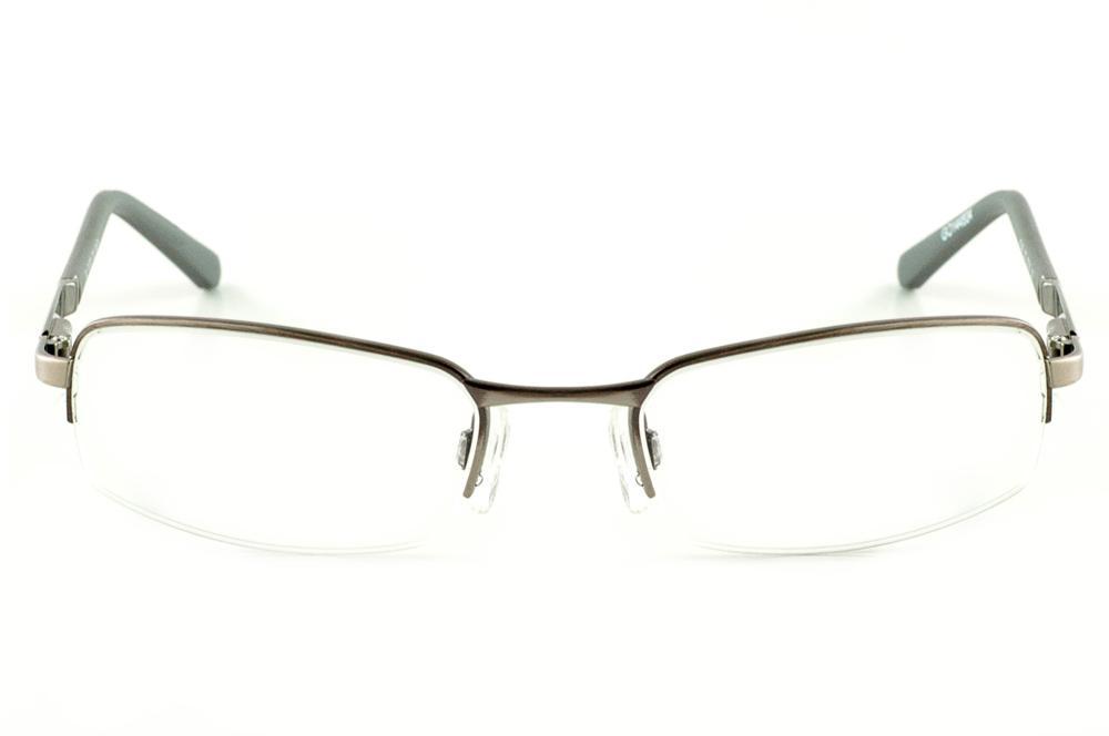 Óculos AT1496 Atitude bronze grafite haste flexível de mola 0e1ddecb4f