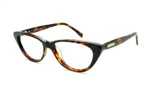 f41cd3e788aa2 Óculos Bulget demi tartaruga efeito onça com haste flexível de mola