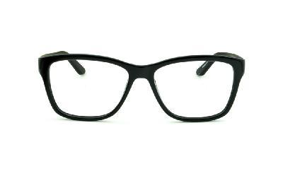 cdb216dcf41b5 ... Óculos Calvin Klein CK5827 Preto brilhante com haste preta fosca ...