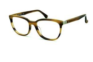 04af1cfbe520c Óculos Calvin Klein CK5879 Marrom caramelo mesclado com haste flexível de  mola