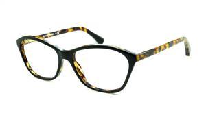 56e17068add Óculos Emporio Armani EA3040 preto e demi tartaruga efeito onça em acetato