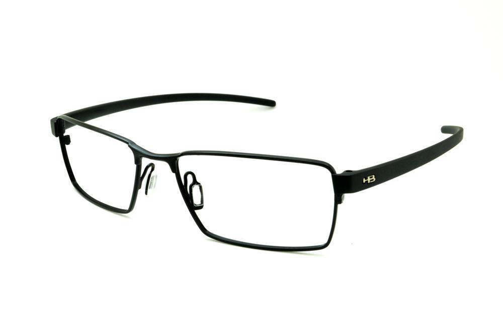 ff5134dd3dfec Óculos HB Black Matte Black - Metal preto fosco e detalhe metal