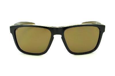 e2ceb09a9c9e8 ... Óculos HB H-BOMB Black Gold preto e marrom emblema dourado e lente  marrom ...