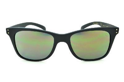... Óculos HB Land Shark 2 preto fosco e lente espelhada dourada Edição  Especial Miguel Pupo ... 3d5dfd9ce4