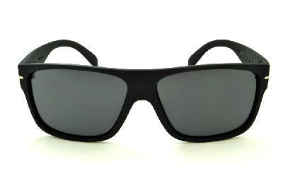 3f84cabb2404b ... Óculos HB Would Matte Black preto fosco com lente cinza ...