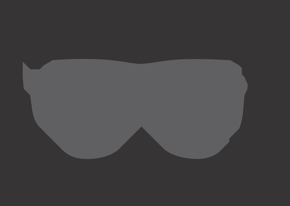 526624673d2a9 Óculos Ilusion J00577 fio de nylon preto e lente grátis