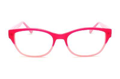321910d564ebd ... Óculos Disney acetato vermelho e rosa bebê com haste com desenhos rosa  bebê flexível de mola ...