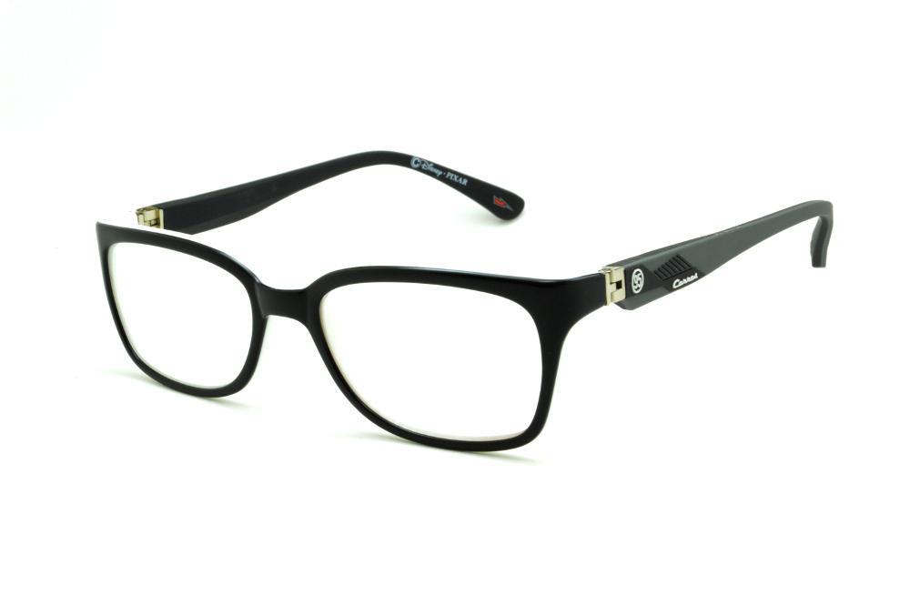 2ceabd3a1 Óculos Disney Carros preto com haste flexível 180 graus emborrachada