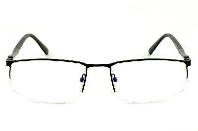 ed3c888fc9f39 ... Óculos Ilusion fio de nylon preto + Lentes grátis ...