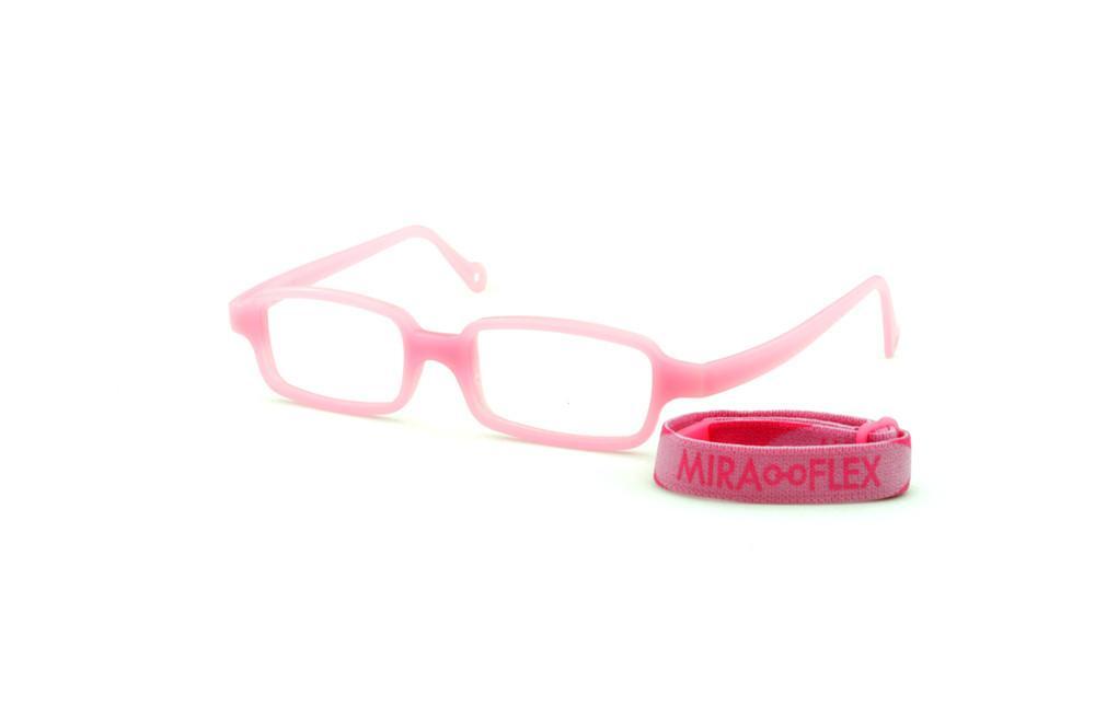 5585b69d8 Óculos Infantil Miraflex Rosa em silicone New Baby 1 39/14 (de 1 a