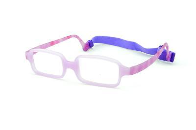 4dae3cdd5c94d ... Óculos Miraflex Siliconado INQUEBRÁVEL New Baby 2 42 14 Lilás (de 3 a 7  ...