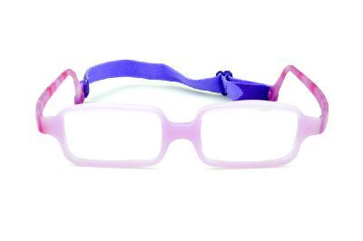 9d4cffd294b4f ... Óculos Miraflex Siliconado INQUEBRÁVEL New Baby 3 45 17 Lilás (de 6 a  10 ...
