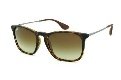 aad3ec428ac2f Óculos Ray-Ban Chris RB4187 tartaruga fosco com lente degradê ...