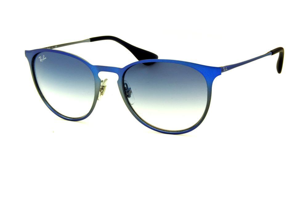 ray ban lente azul escuro