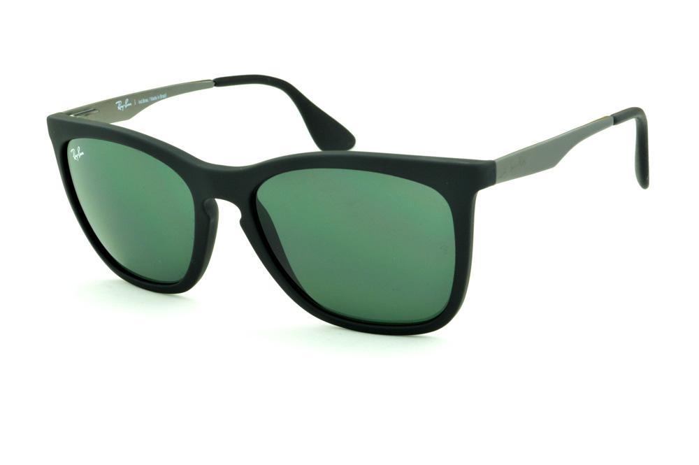 1855d0dbf1f57 Coleção de Óculos Quadrado Retangular   Grafite Cinza Prata   Ray-Ban