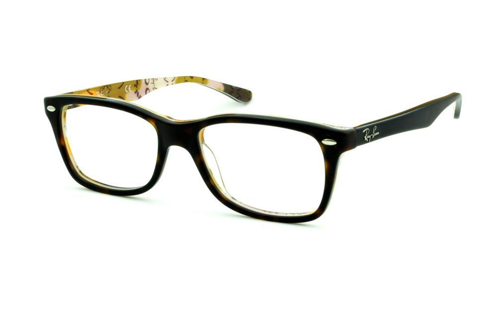 Óculos de Grau Redondo   Armação e óculos cor tartaruga onça   Ray-Ban ec09bb7f0d
