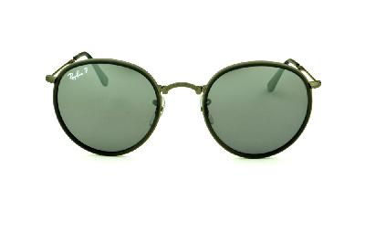 Oculos Ray Ban Aro Prata Com Lente Espelhada   Louisiana Bucket Brigade 00b54b22ba