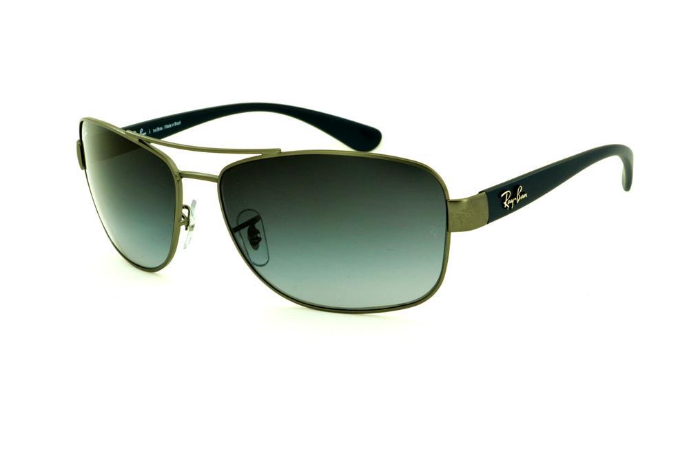 Óculos Azul   Ray-Ban   Óculos Quadrado Retangular 528709fc61