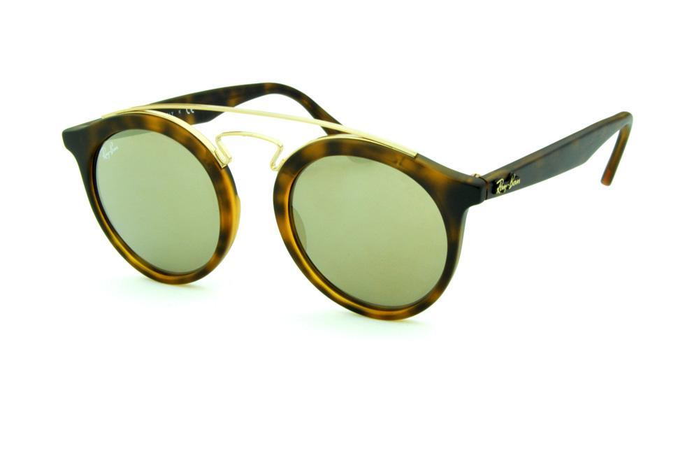 4456fcd29 Óculos Ray-Ban de Sol RB4256 Gatsby tartaruga onça fosco lente bronze