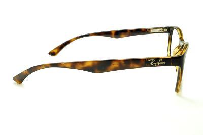 ... Óculos Ray-Ban tartaruga demi efeito onça em acetato com haste flexível  de mola 934094756b