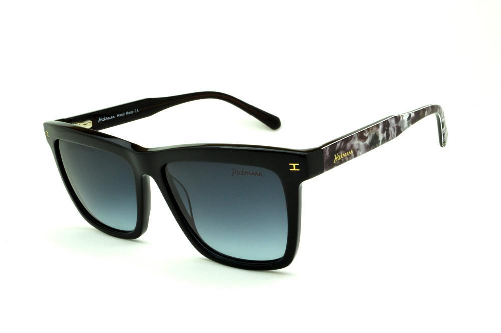 Óculos Ana Hickmann HI9010 Floral preto e haste estampada 2230410035