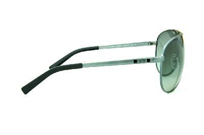 bfd69bc035f26 ... Óculos de Sol Armani Exchange AX2006 cinza claro com logo preto ...