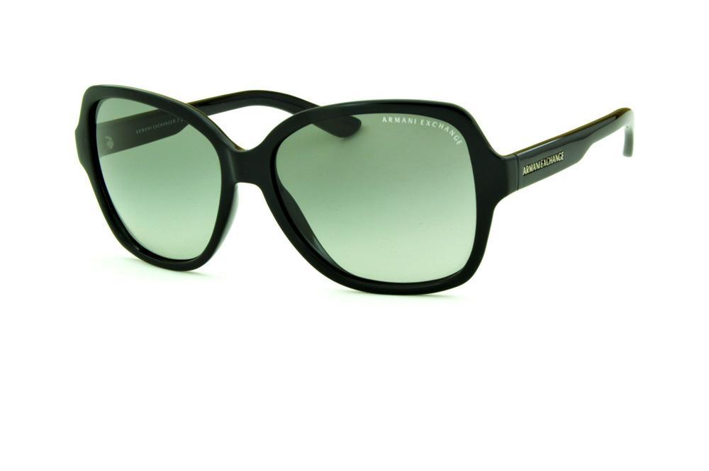 1c55cfc0f1 Óculos de Sol Armani Exchange AX 4029S preto lente cinza degradê