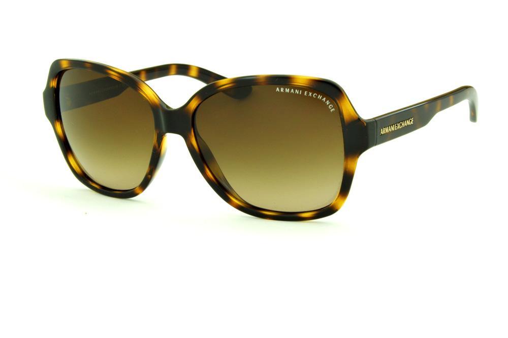 536c37ea5 Óculos de Sol Armani Exchange AX 4029S tartaruga onça lente marrom