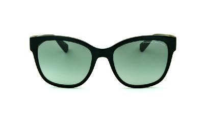 bc5dd8e09c2 ... Óculos de Sol Armani Exchange AX4046SL preto com detalhe nas hastes  redondo e lente cinza degradê ...