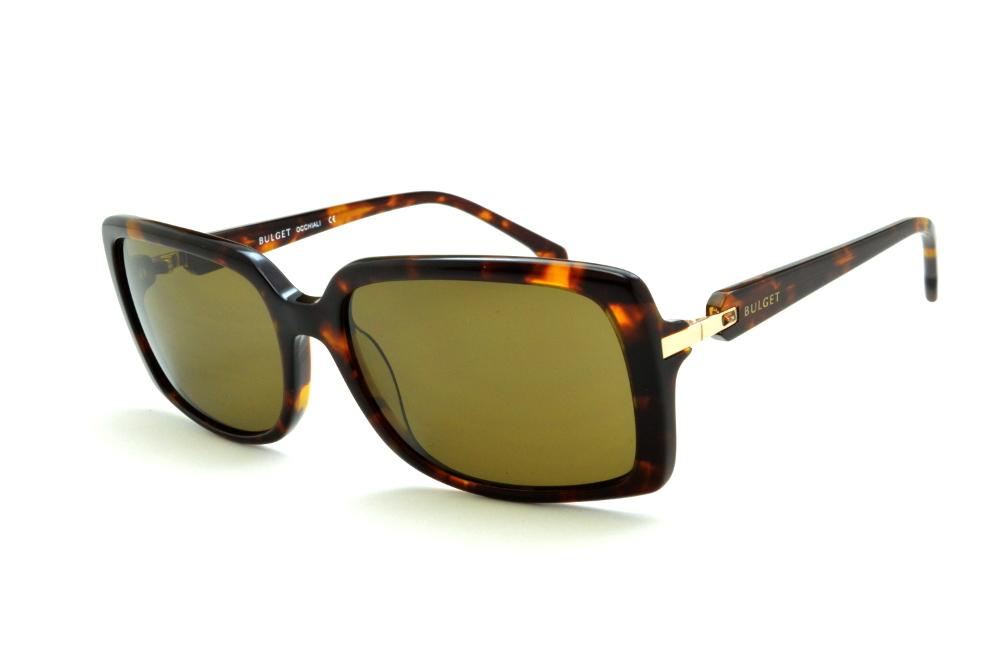 bc9524736 Óculos de Sol Bulget cor demi/tartaruga efeito onça e detalhe dourado