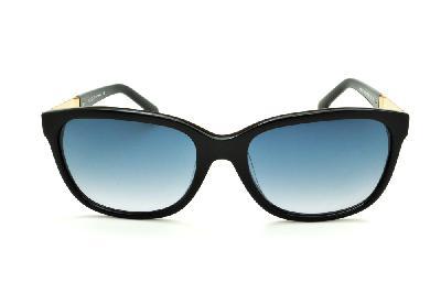 e5a18a97eb512 ... Óculos de Sol Bulget cor preto e detalhe dourado ...