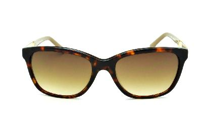 d40519005bd30 ... Óculos de Sol Bulget modelo gatinho cor demi tartaruga efeito onça com haste  areia e ...