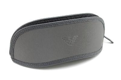 1b10007a9b31b ... Óculos Emporio Armani EA3034 preto e cinza com haste efeito borracha