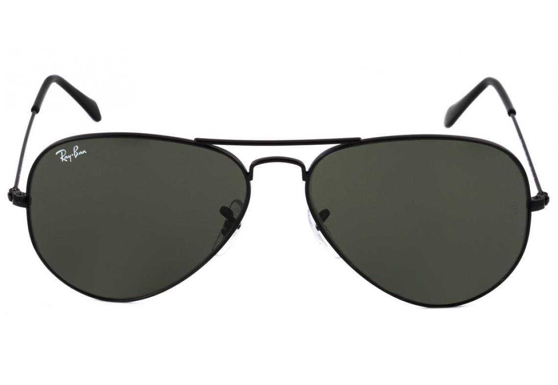 bb8942adf4bf9 Óculos Ray-Ban Aviador RB3025 preto lente preta