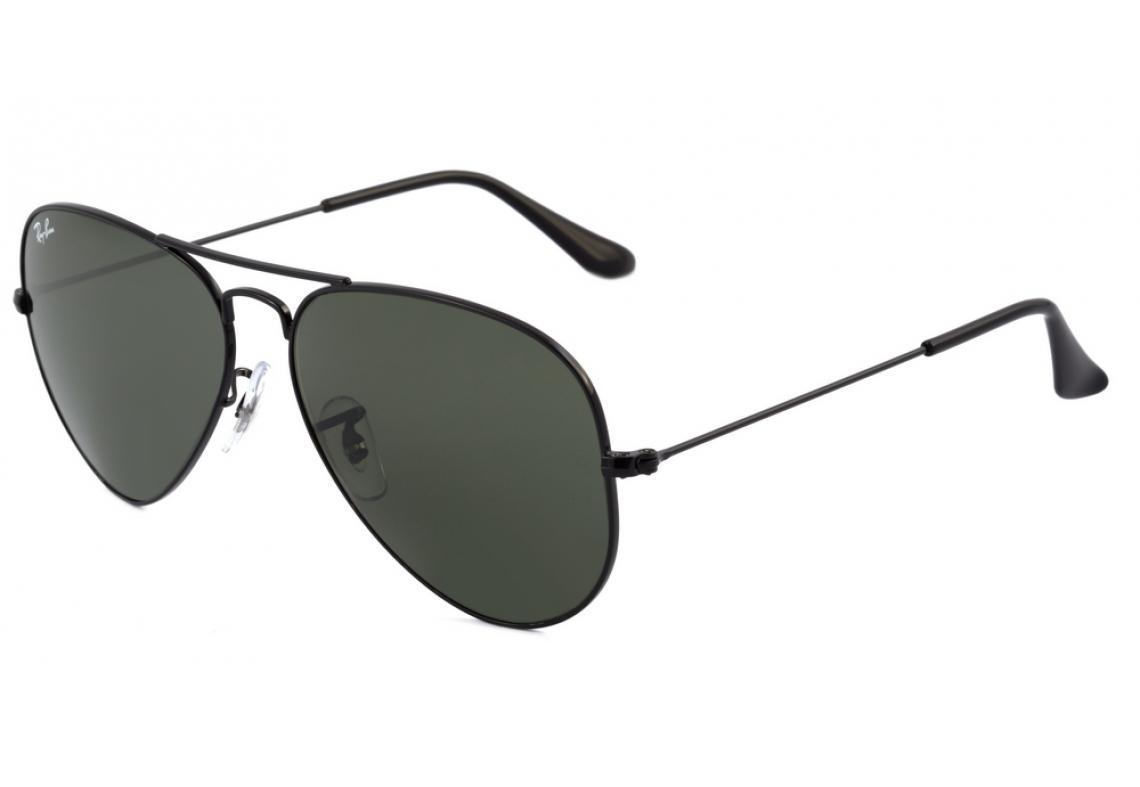 e772b9ffb9e38 Óculos Ray-Ban Aviador RB3025 preto lente preta