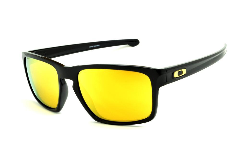 b4c323724 Óculos Oakley OO9262L Sliver preto e lente amarela