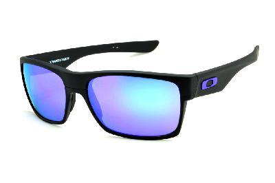 856e4079c Óculos de sol Oakley OO9189 Twoface preto com lente roxa ...