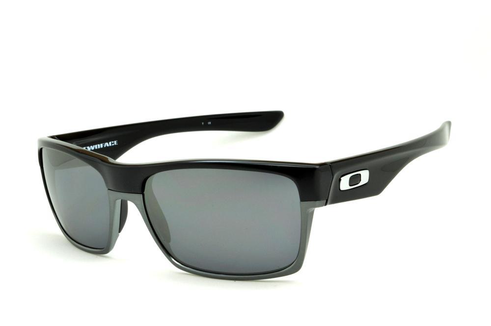 Óculos de sol Oakley OO9189 Twoface preto e cinza 38516683c8
